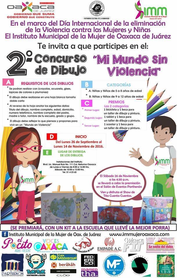 Convoca ayuntamiento de Oaxaca a concurso de dibujo infantil - Quadratín
