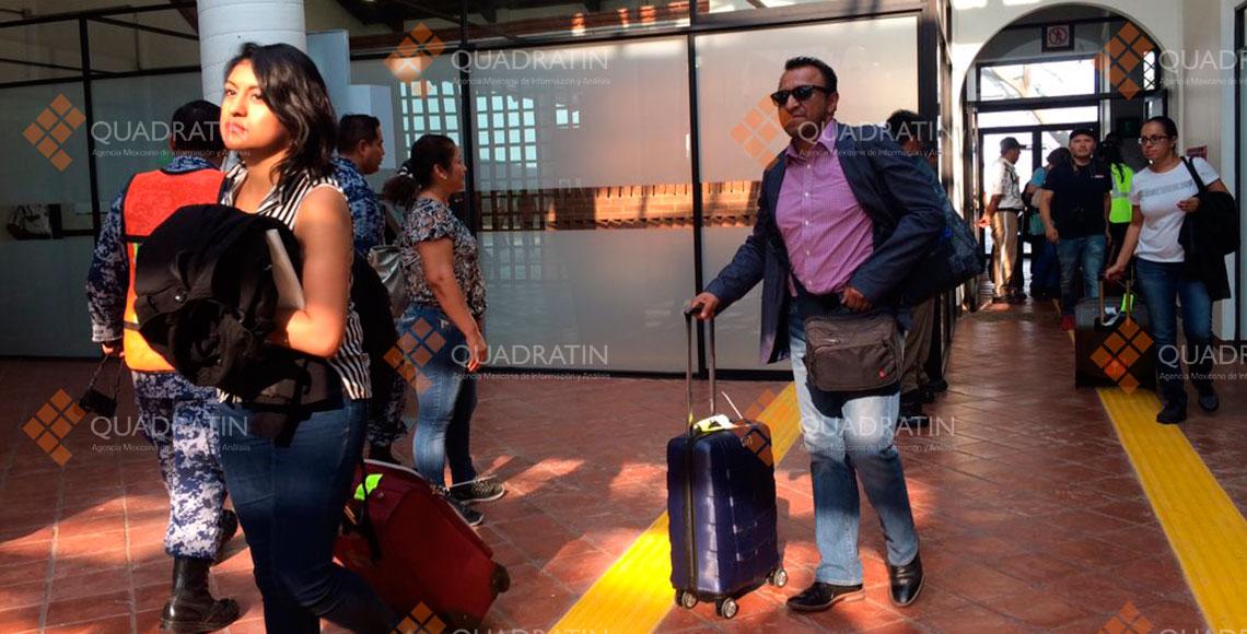 Llega primer vuelo comercial al Istmo de Tehuantepec
