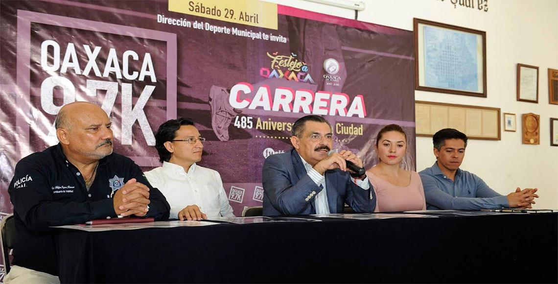 Celebran el 485 aniversario de la ciudad de Oaxaca