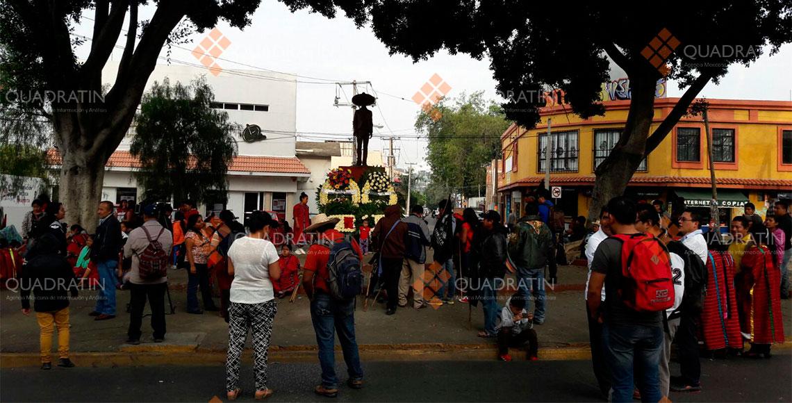 Celebran aniversario de Emiliano Zapata