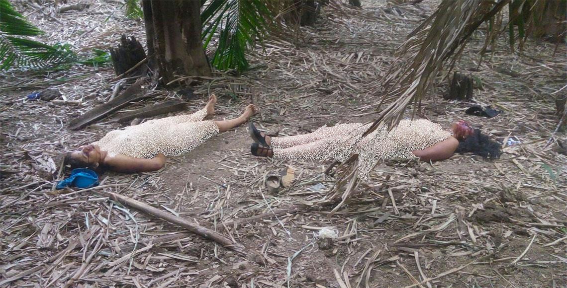 Encuentran en Tuxtepec, Oaxaca cuerpos de dos mujeres maniatadas