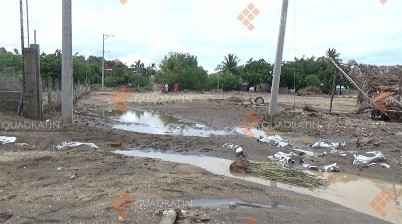 Denuncian daños en la Costa por Obras mal planeadas de SCT
