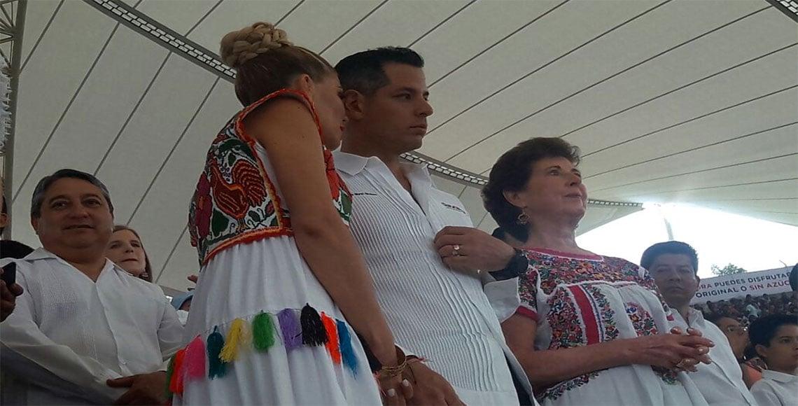 Sección 22 se planta otra vez en el zócalo de Oaxaca