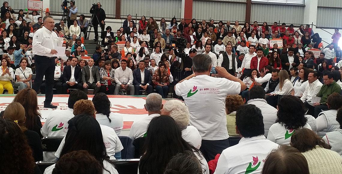 Liconsa aliado en la lucha contra la violencia de género: Osorio Chong