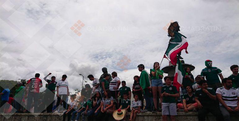 Resultado de imagen para LOS FESTEJOS POR TRIUNFO DE MÉXICO ANTE ALEMANIA