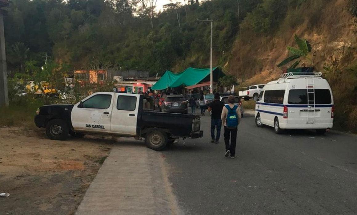 Descarta Murat emplear la fuerza contra bloqueo carretero