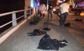 Dejan bolsas con restos humanos en Tuxtepec