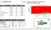 Oaxaca aporta el 30% de casos de dengue a la estadística nacional