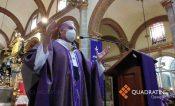 Pide arzobispo de Oaxaca usar cubrebocas para cuidarse de la Covid 19