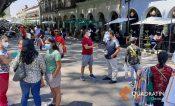 Cuestionan personas en Oaxaca paso a semáforo verde