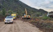 Habilitan paso provisional en carretera al Istmo