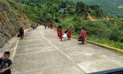 Avanza retorno de 137 familias triquis a zona de conflicto en Oaxaca